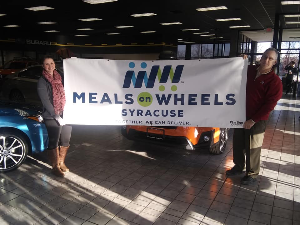 Romano Subaru and Meals On Wheels Of Syracuse