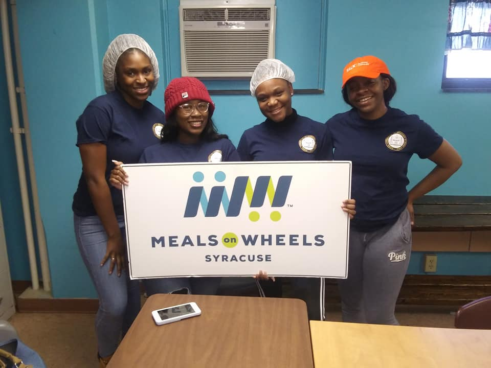 Meals On Wheels Of Syracuse and the SU NAACP