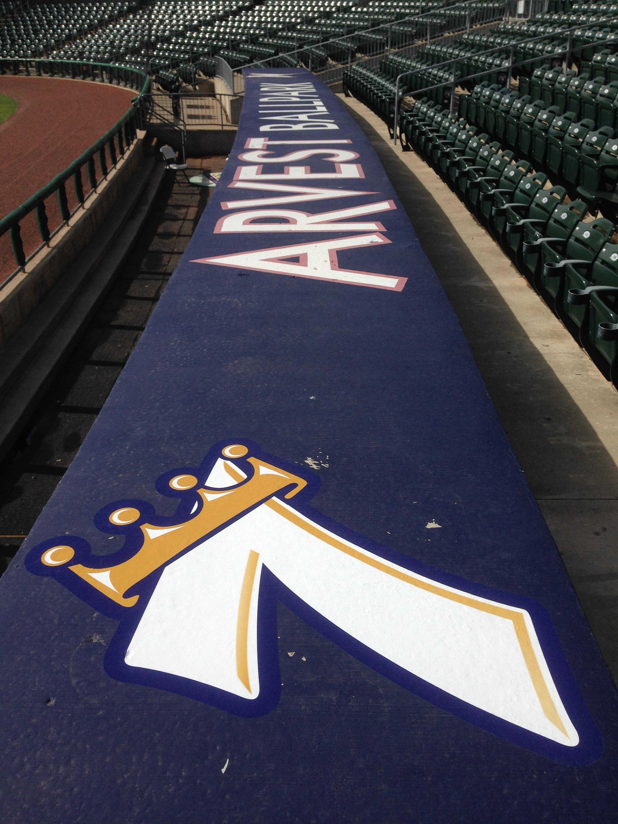.Our vinyl work can also be seen at the arvest ballpark