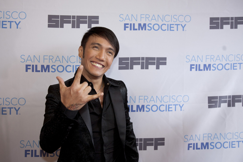 The Closing Night film at SFIFF55 was  Don't Stop Believin': Everyman's Journey , and we had all the members of Journey there to help celebrate their hometown premiere.  New frontman Arnel Pineda is an amazing guy and is super down-to-earth considering the hurricane of superstardom that has swept him up.  Photo by Tommy Lau.