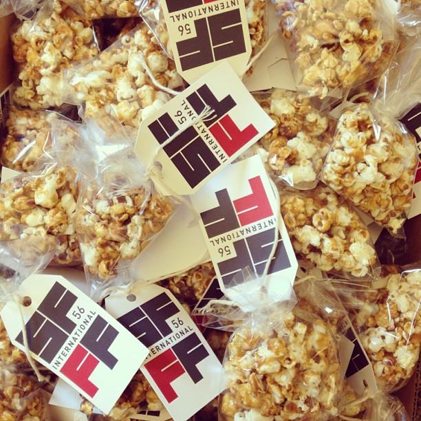Cute SFIFF56 Popcorn Bags!