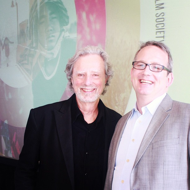 Ted Hope & Founder's Directing Award Recipient Philip Kaufman at the SFIFF56 Press Conference