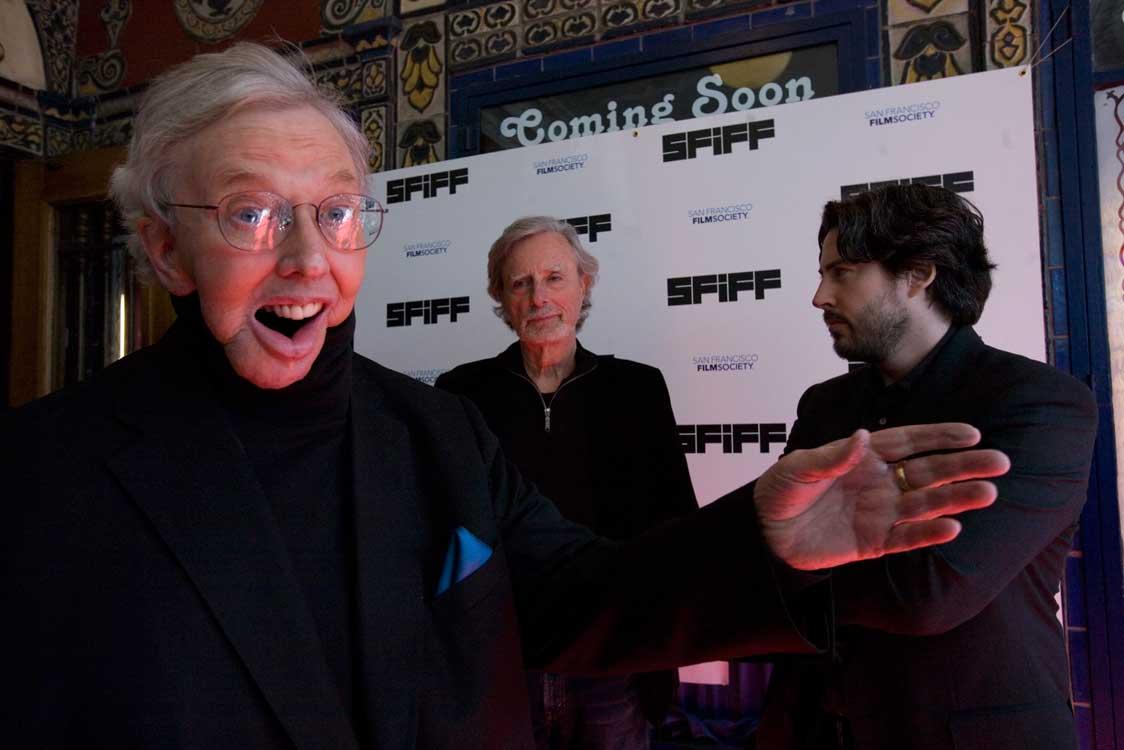 Ebert Arriving to the Castro Theatre During SFIFF53