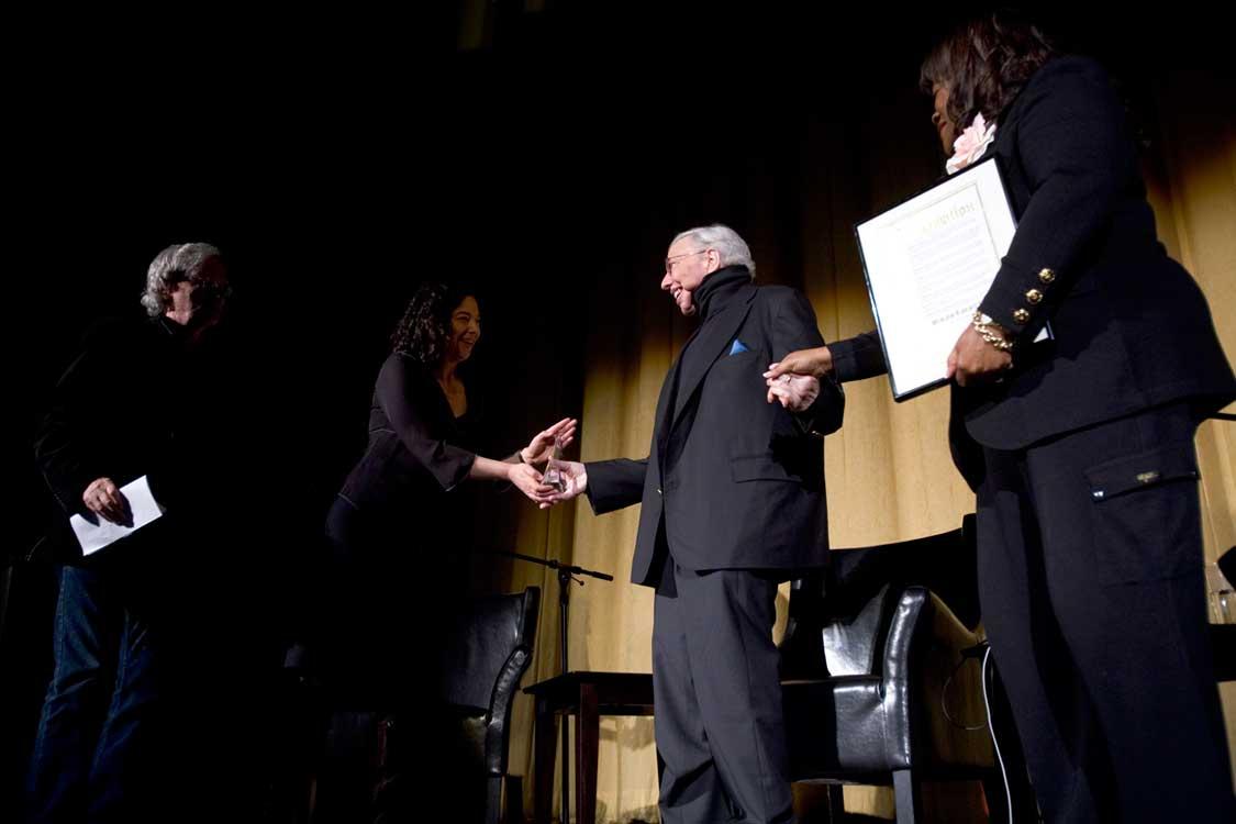 Roger Ebert Accepting the SFIFF53 Novikoff Award