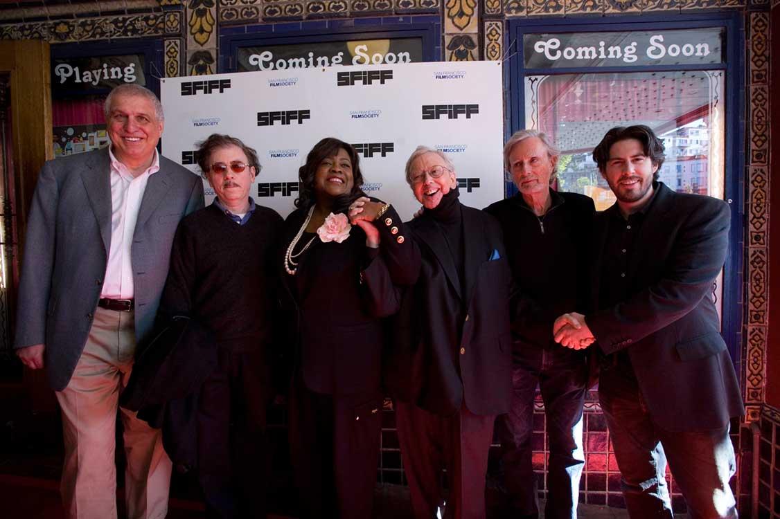 Errol Morris, Terry Zwigoff, Chaz Ebert, Roger Ebert, Philip Kaufman, and Jason Reitman at SFIFF53