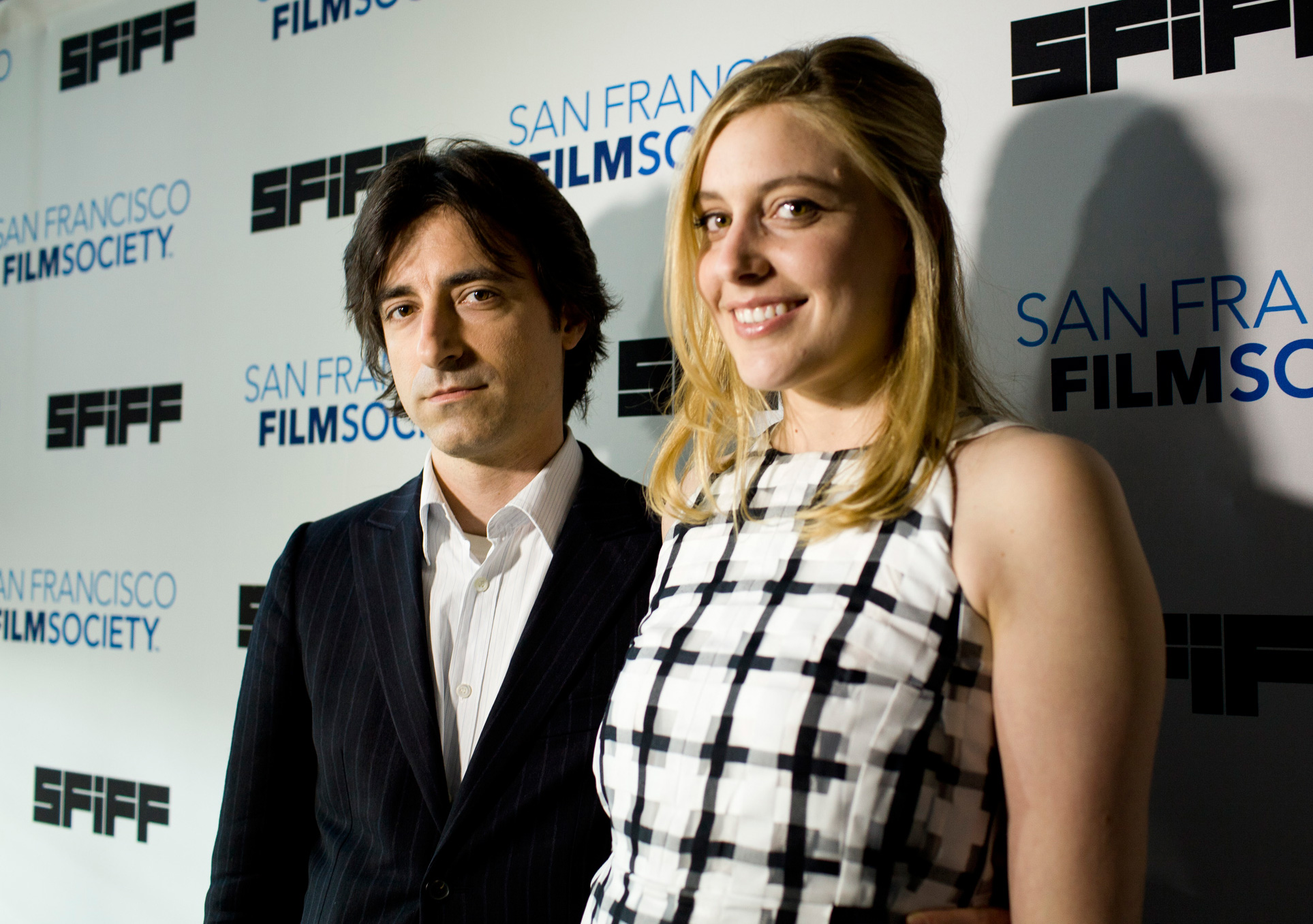 Noah Baumbach and Greta Gerwig at the premiere of FRANCES HA at the 56th San Francisco International Film Festival. Photographed by Pamela Gentile.