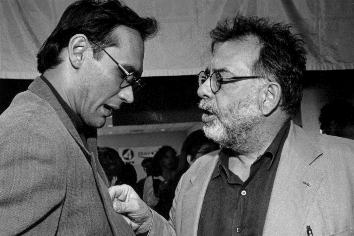 Francis Ford Coppola with Jimmy Smits at the 38th SFIFF