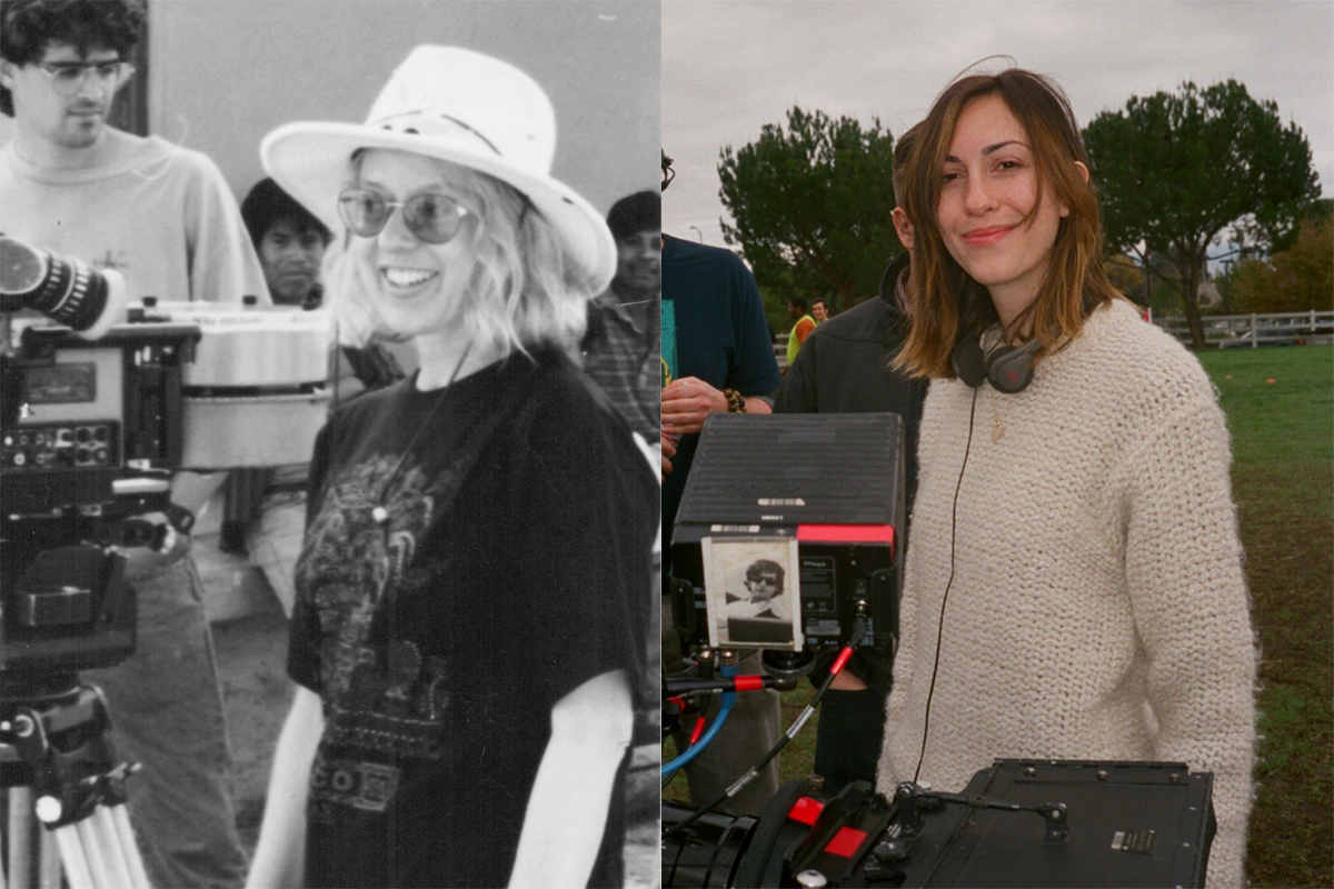 Lorena Parlee (left) - Gia Coppola (right)
