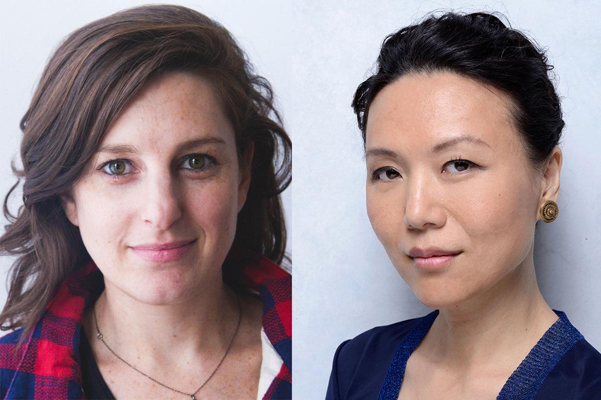 Gillian Robbespierre (left) - Vivian Qu (right)