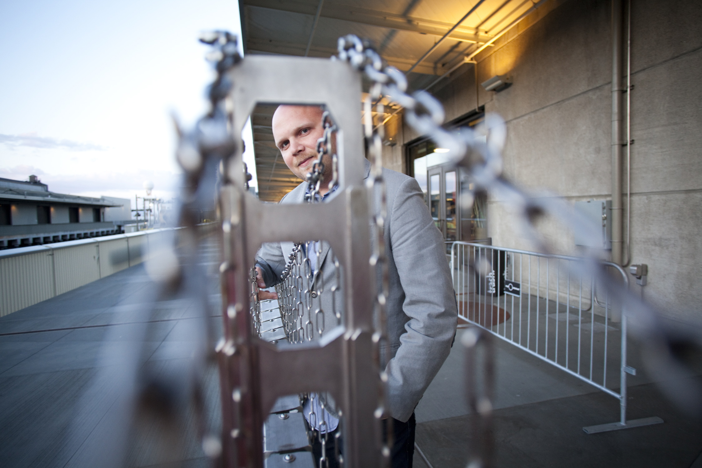 Jeremy Ambers, director of IMPOSSIBLE LIGHT, at the 57th San Francisco International Film Festival  Photo: Pamela Gentile