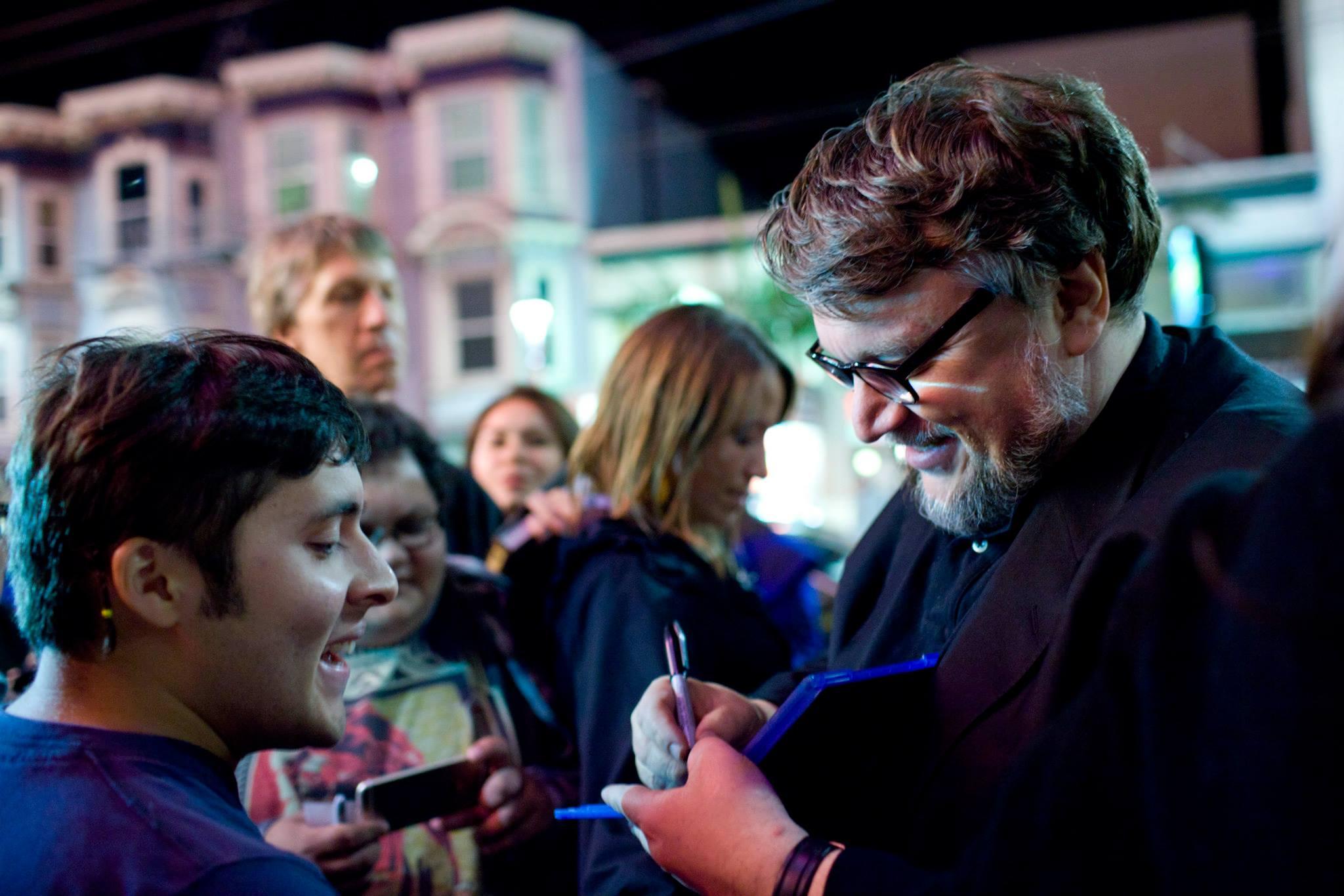 Guillermo del Toro, recipient of SFIFF58's Irving M. Levin Directing Award