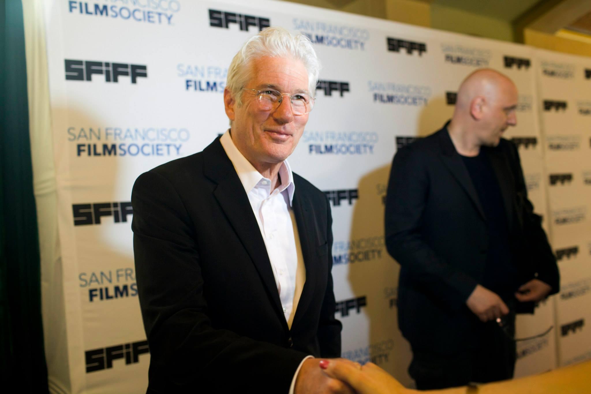 Richard Gere, recipient of SFIFF58's Peter J. Owens Award