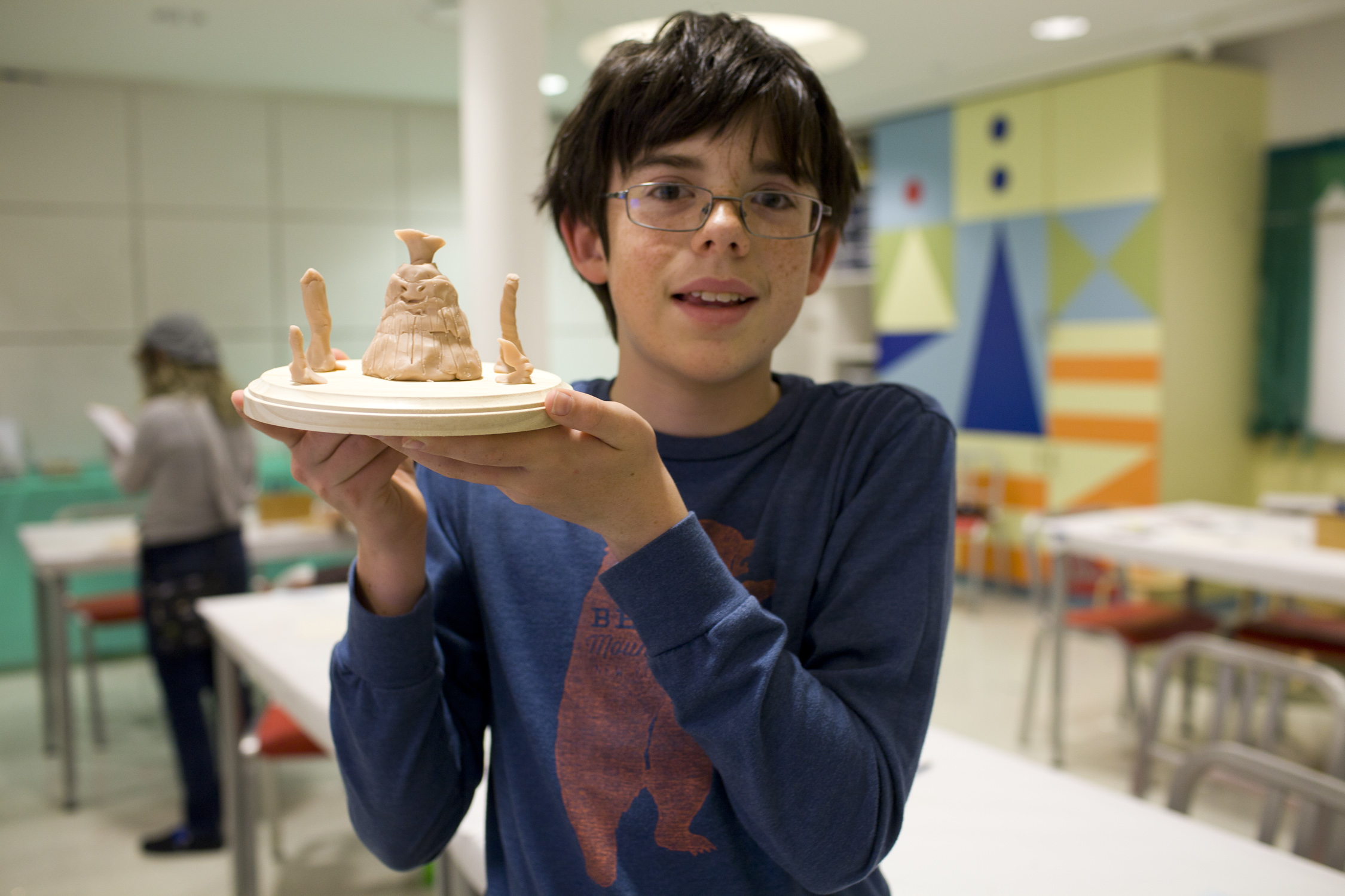 Discovering Characters In Pixar's Lava: A Sculpting Workshop For Kids