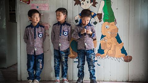 triplets in sun village