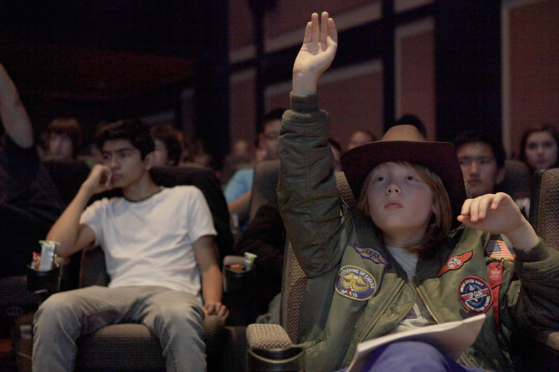 Student at art & science of lucasfilm: pacific rim, 2013.