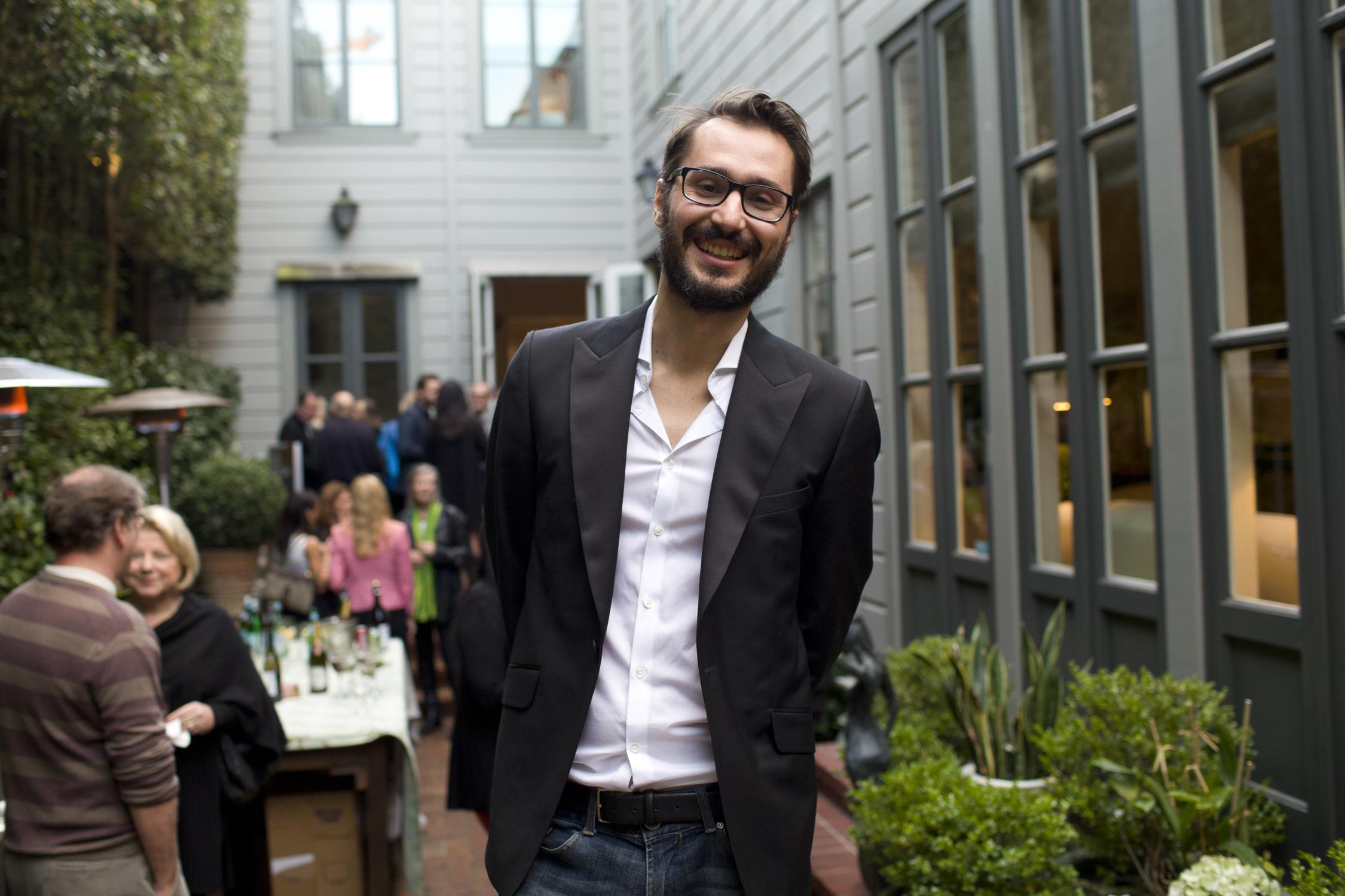 Filmmaker Matteo Bini