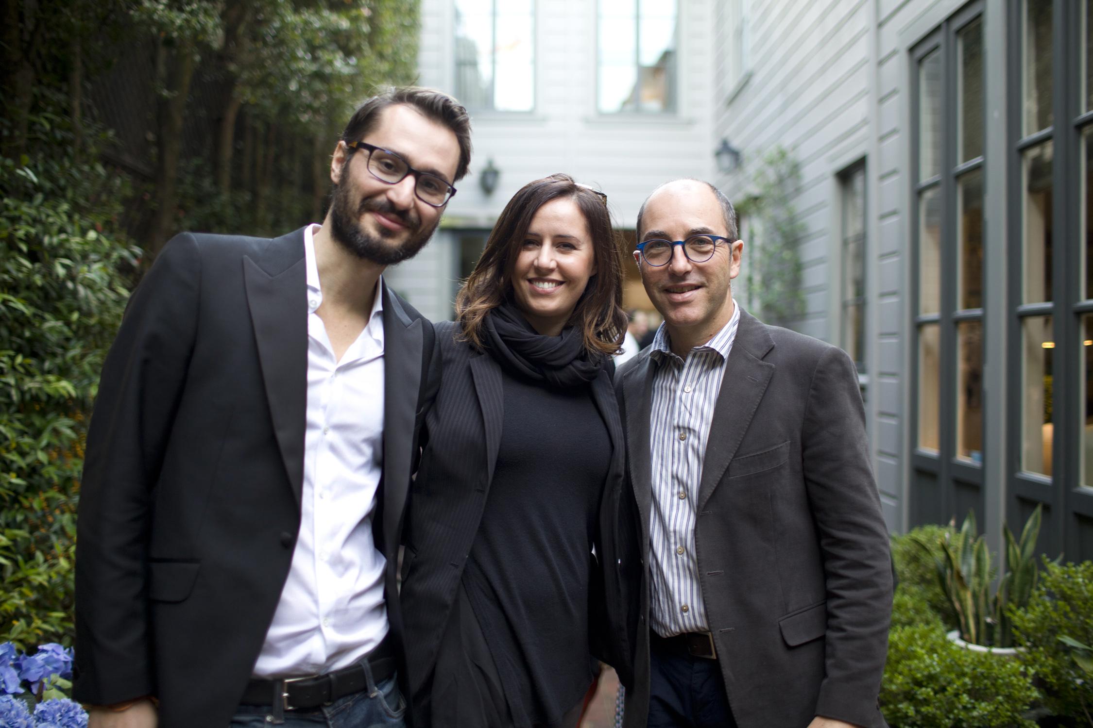 Filmmakers Matteo Bini, Alessia Scarso & Marco Pontecorvo