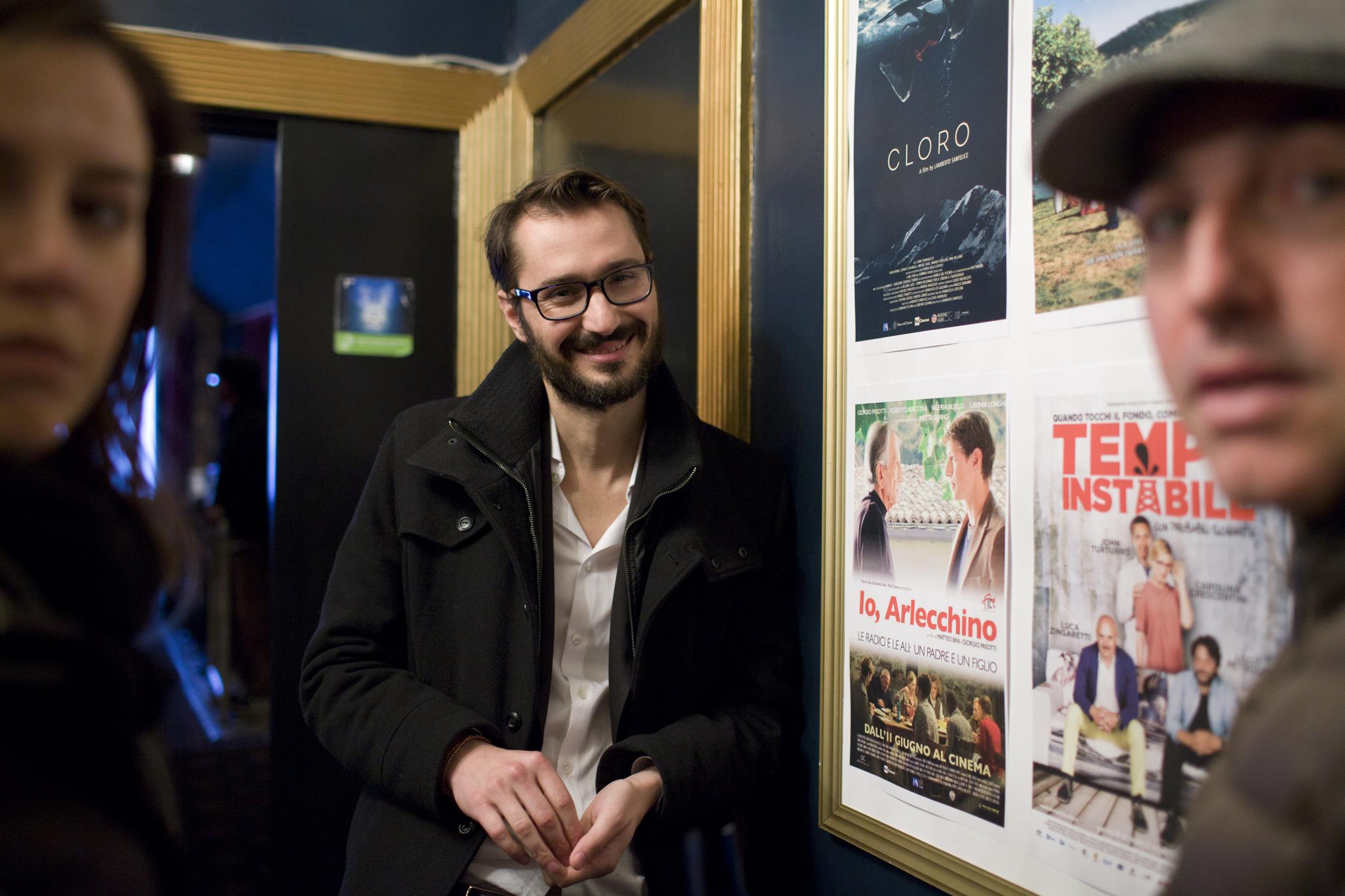 Filmmakers Alessia Scarso, Matteo Bini & Marco Pontecorvo