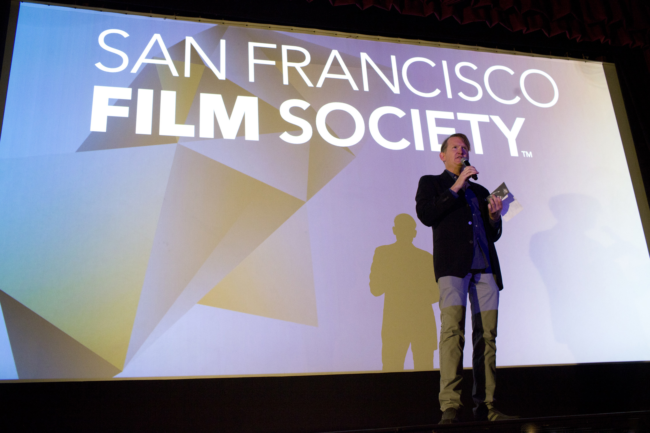 San Francisco Film Society Programmer Rod Armstrong