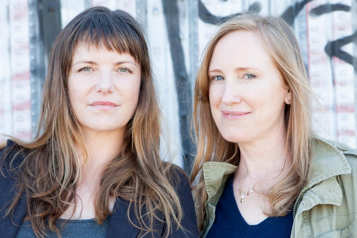 Katie Galloway and Kelly Duane de la Vega