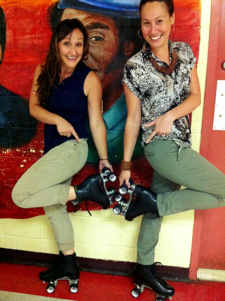 Tina Brown and Dyana Winkler