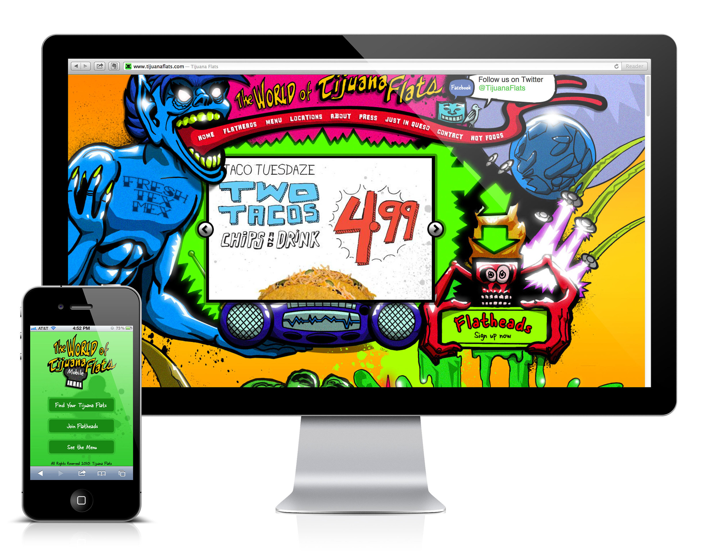 Mobile and WebsiteDesign