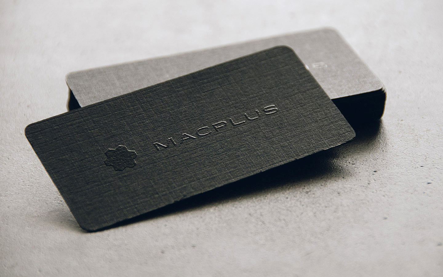 Thermographic Business Card Design