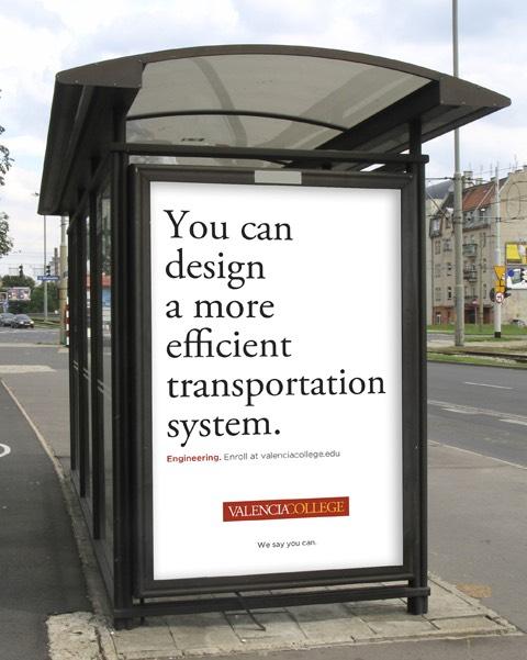 Bus Shelter Poster Design
