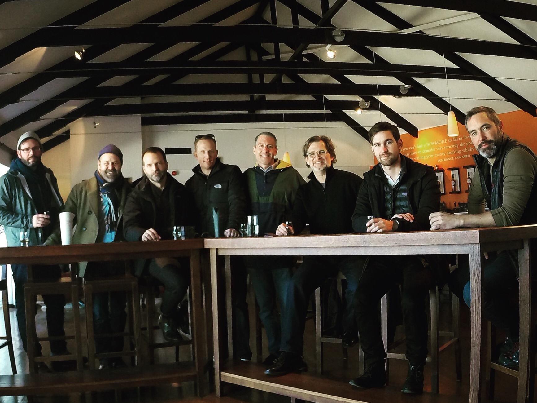 Gents a Bowmore Distillery