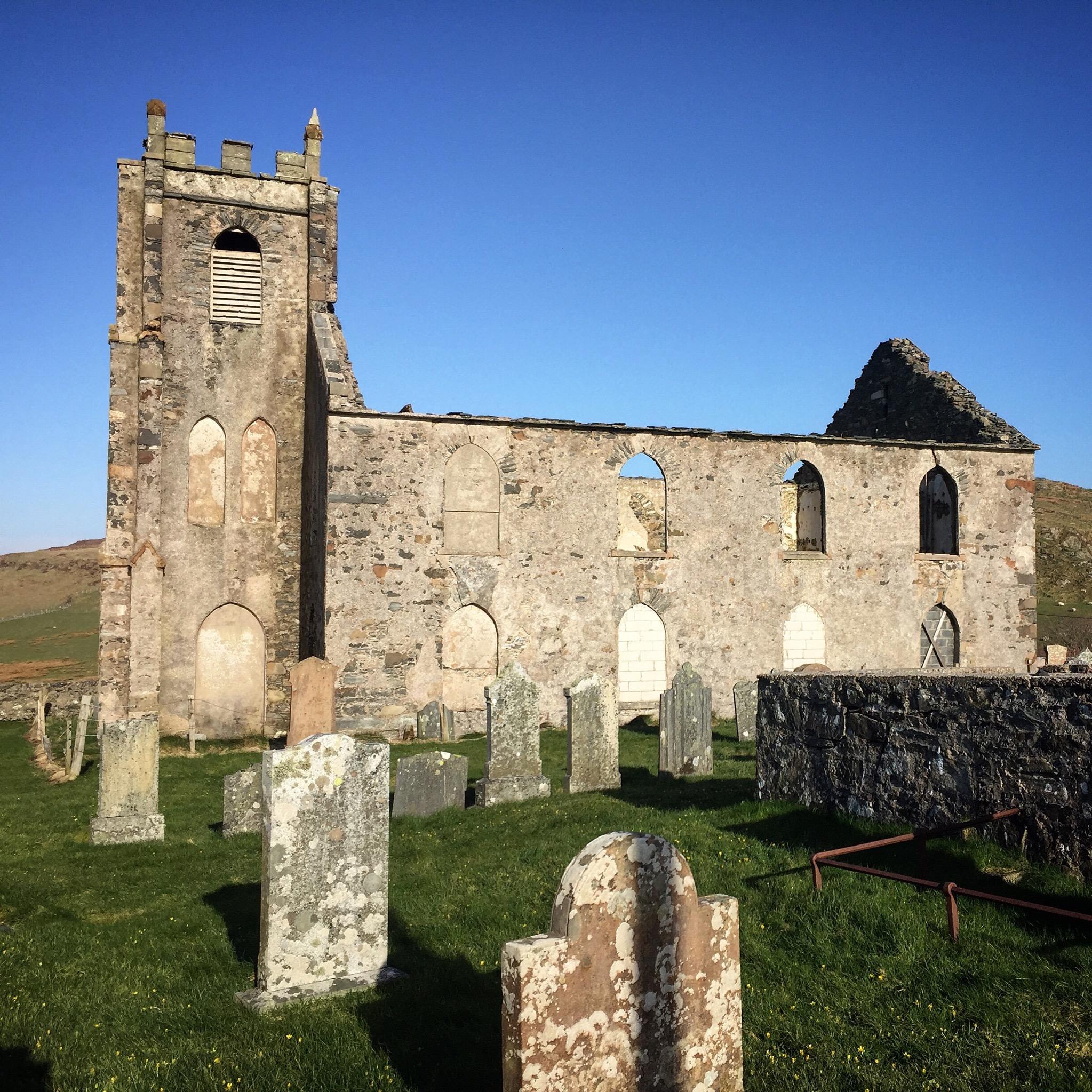The Ruins of the Kilfinichen church