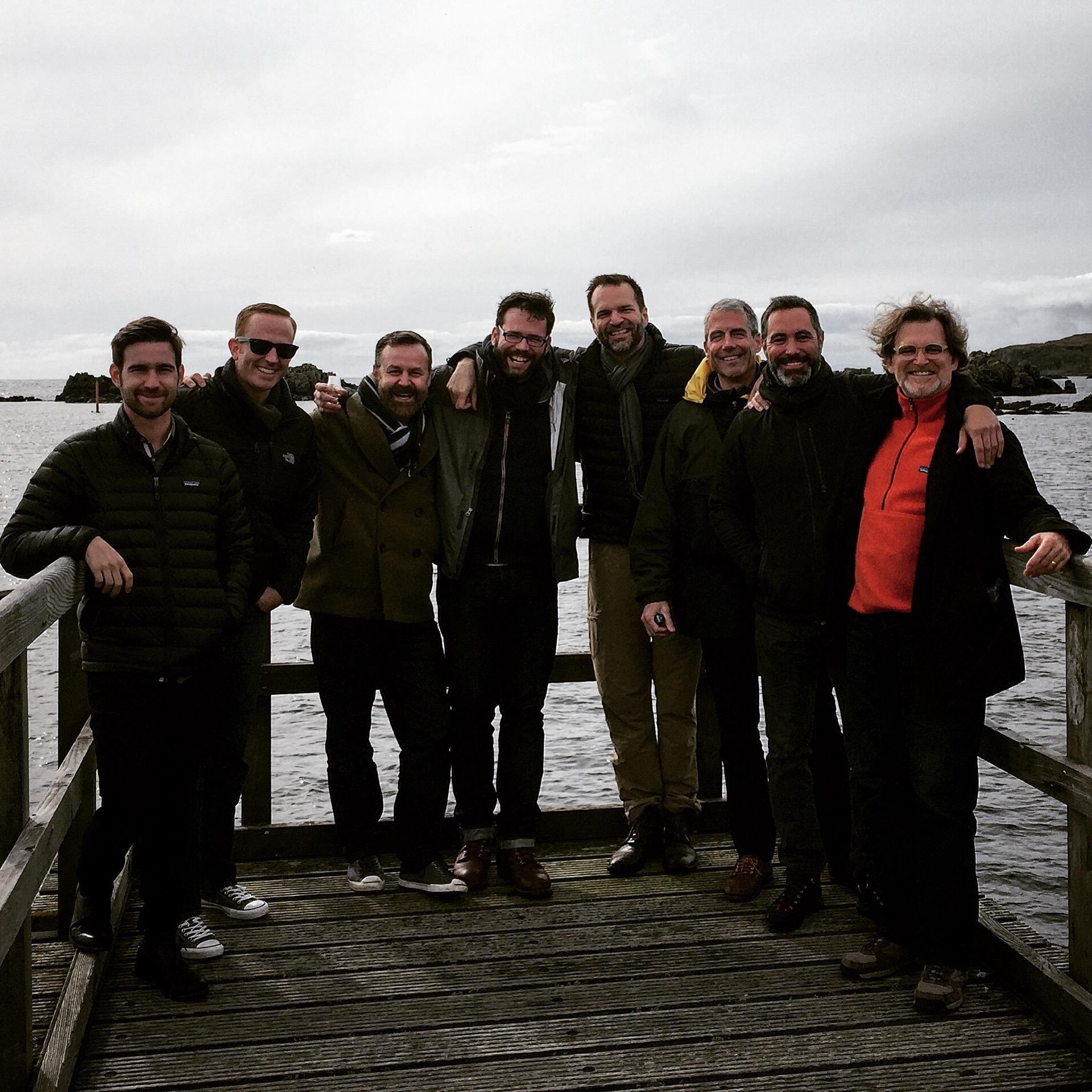 The Gents at Ardbeg Distillery