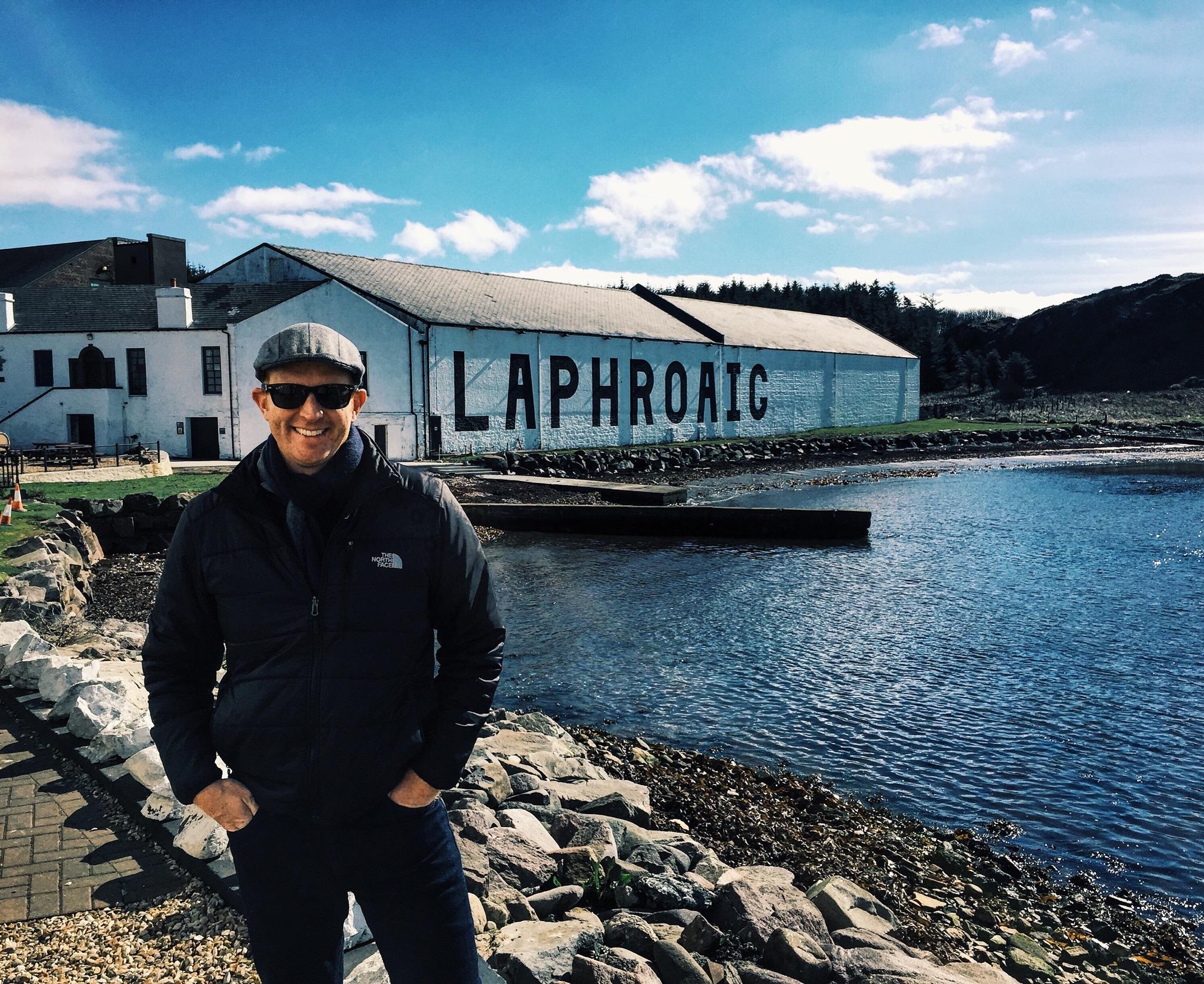 Me at Laphoraig