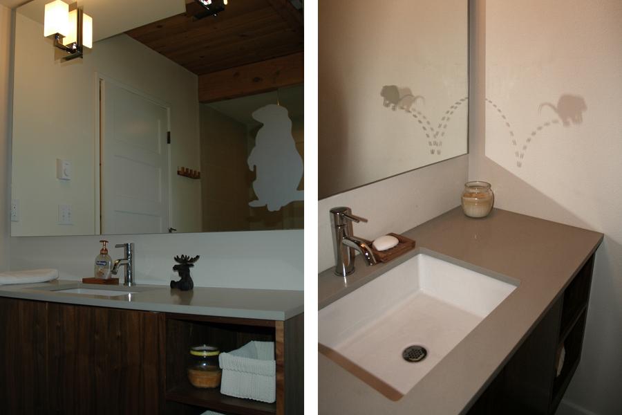 First Floor Bathrooms