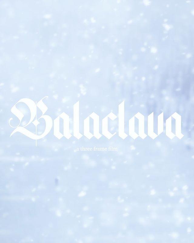 Balaclava - a three frame film