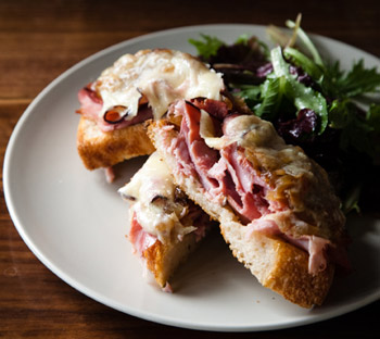 Outerlands Open Faced Sandwich