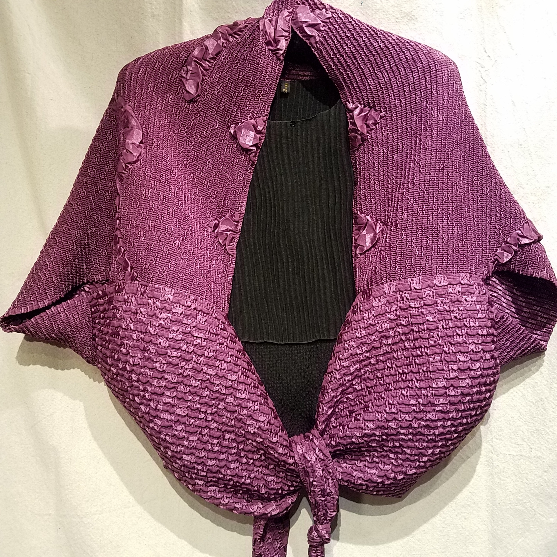 Crinkle Jacket (upside down) CC008 $280