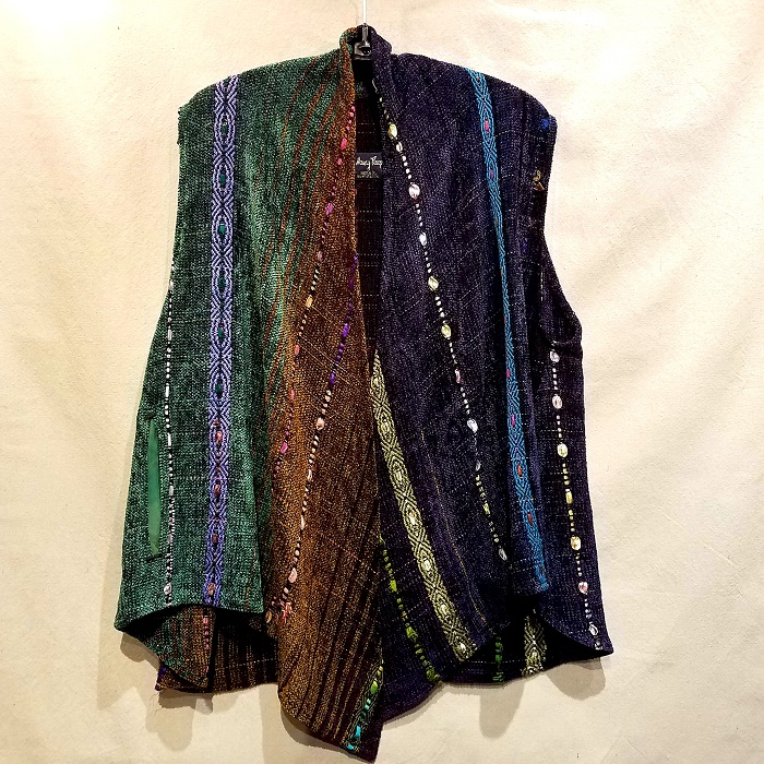 Swing Vest NP1601 $585 Blue/Purple/Green