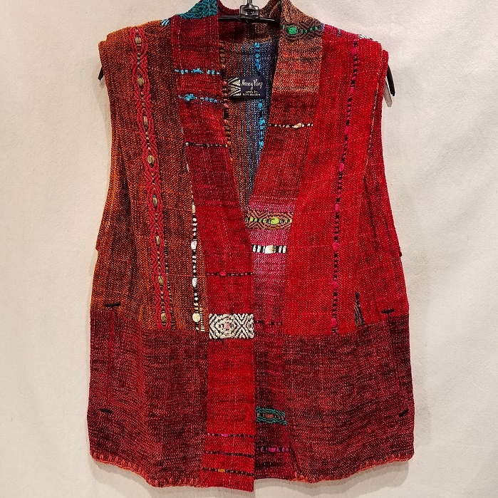Long Jewel Vest NP1604 $485 Reds