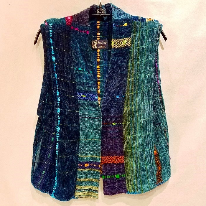 Jewel Vest NP1535 $$425 Teals/Blue