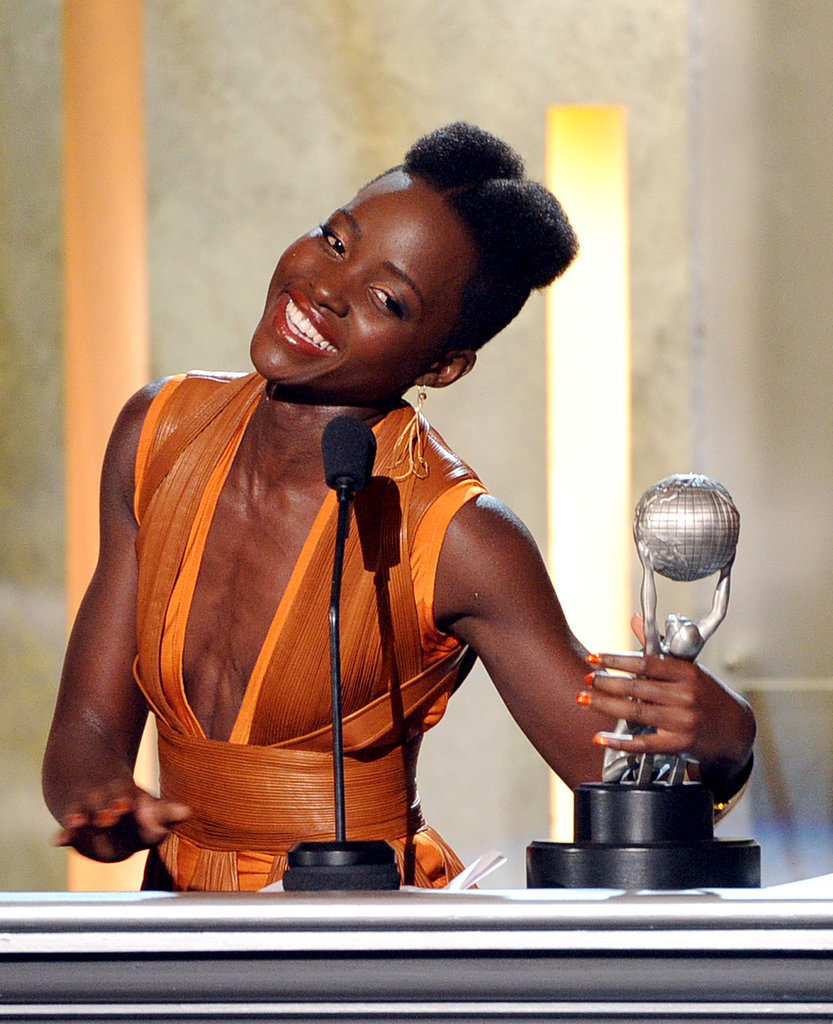 Lupita, At the NAACP Awards Show