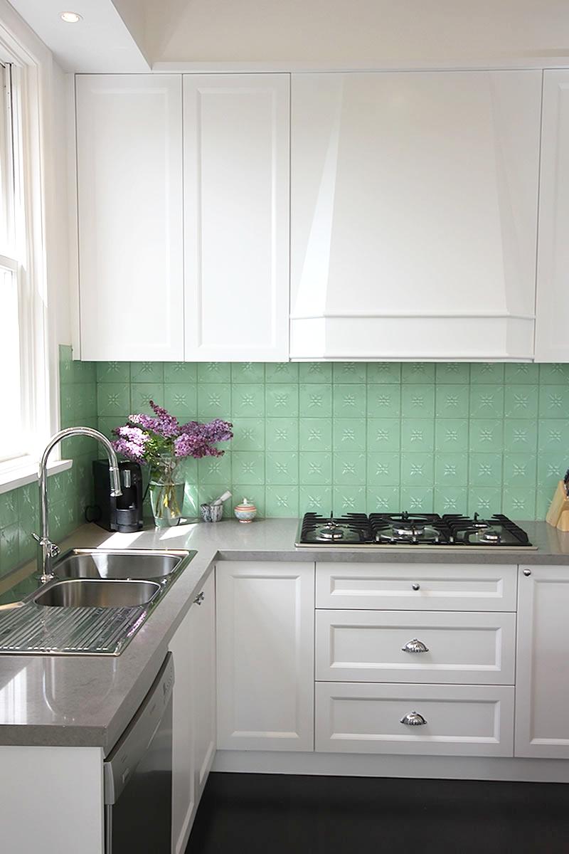 blue fruit interior architecture melbourne contemporary design federation house kitchen pressed glass tile splashback.jpg