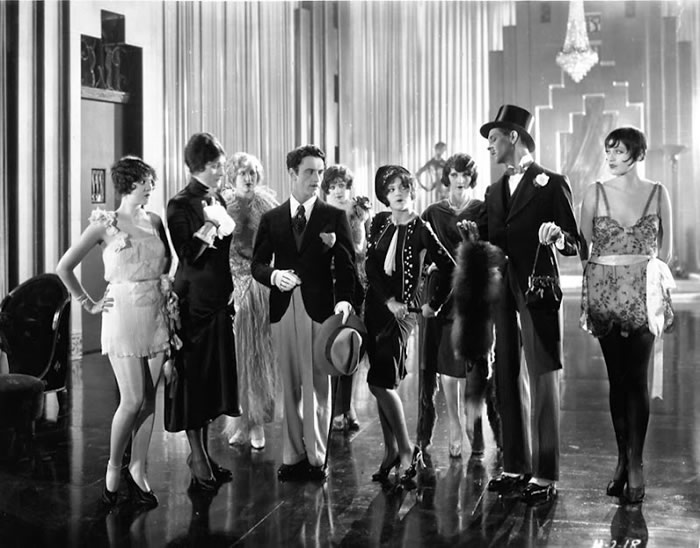 Fashion Show Fig Leaves 1926 via silver screen modiste