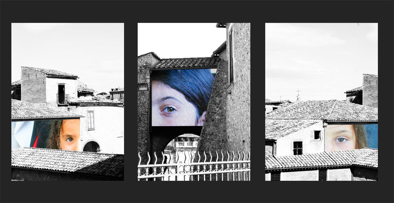 Installazione pubblica       di fotografie