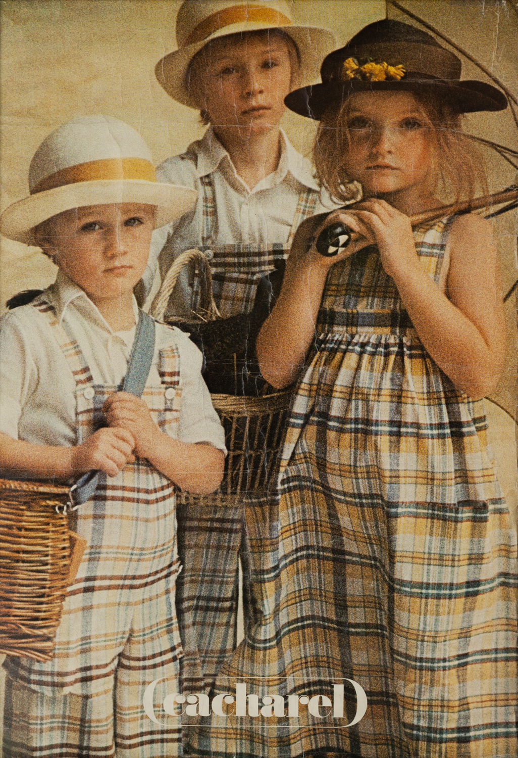 That's me in the middle, modeling for  Sarah Moon in the 1970's in Paris.