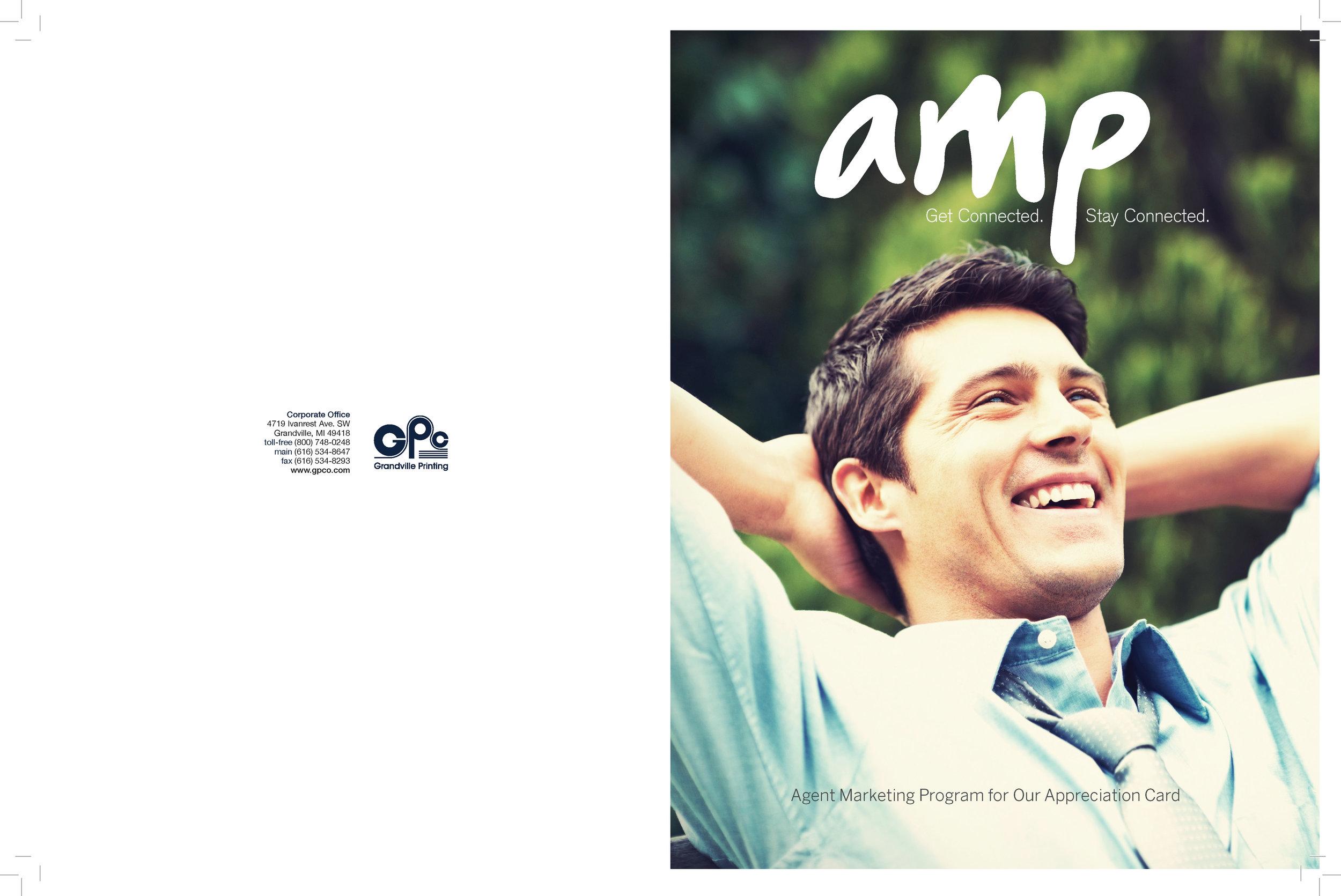 AMP logo, design & writing by: Dennis Kucharczyk