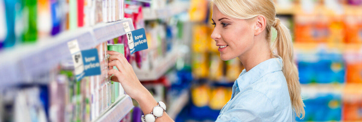 Retail Shelf Tags & Signs — Grandville Printing