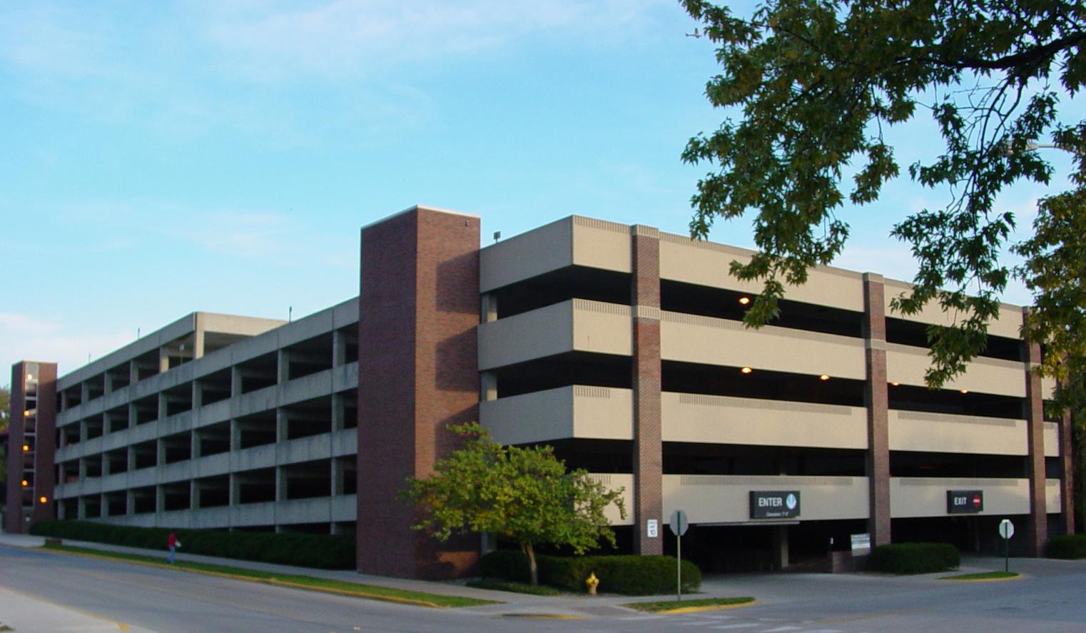 purdue university parking garage repair & restoration projects
