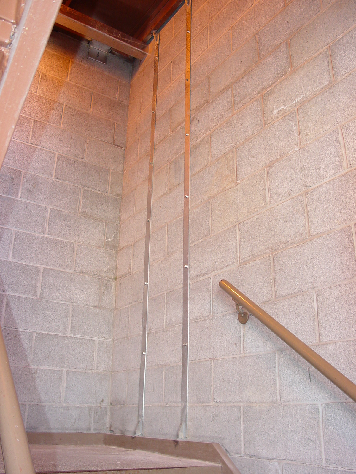 Seismic retrofit of stair towers at University Street Parking Garage