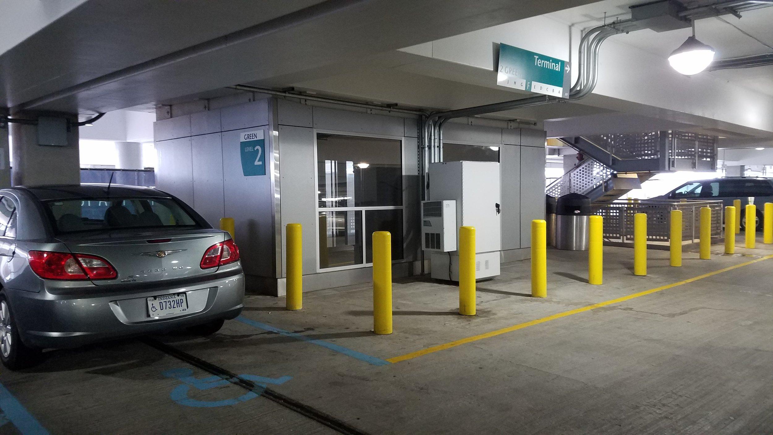 Iaa Parking Garage Improvements 2016 2017 Ce Solutions