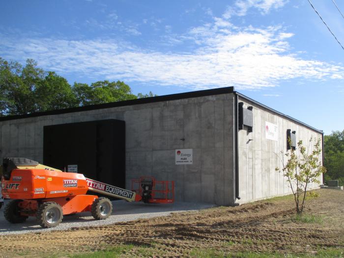 entergy palisades Nuclear flex storage building